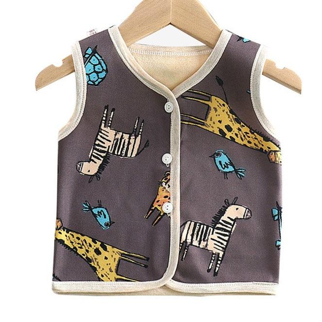 Baby Girls Boys Vests Children Unisex Cotton Warm Vest Cartoon Animal  Design Waistcoat Kids Outerwear Clothing Boys Vest|Vests & Waistcoats| -  AliExpress