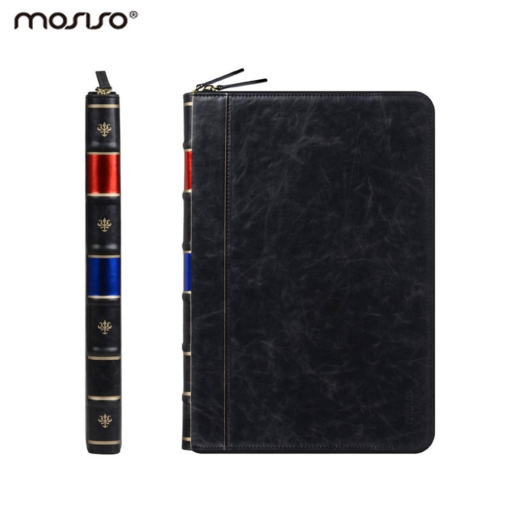 Mosiso Vintage Book PU Leather Cover Case for MacBook Pro 13 Retina...