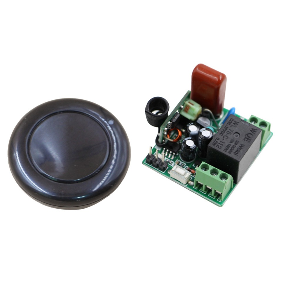 Mejor Calidad Mini Casa Inteligente Interruptor AC220V 1CH RF Sistema de Interru