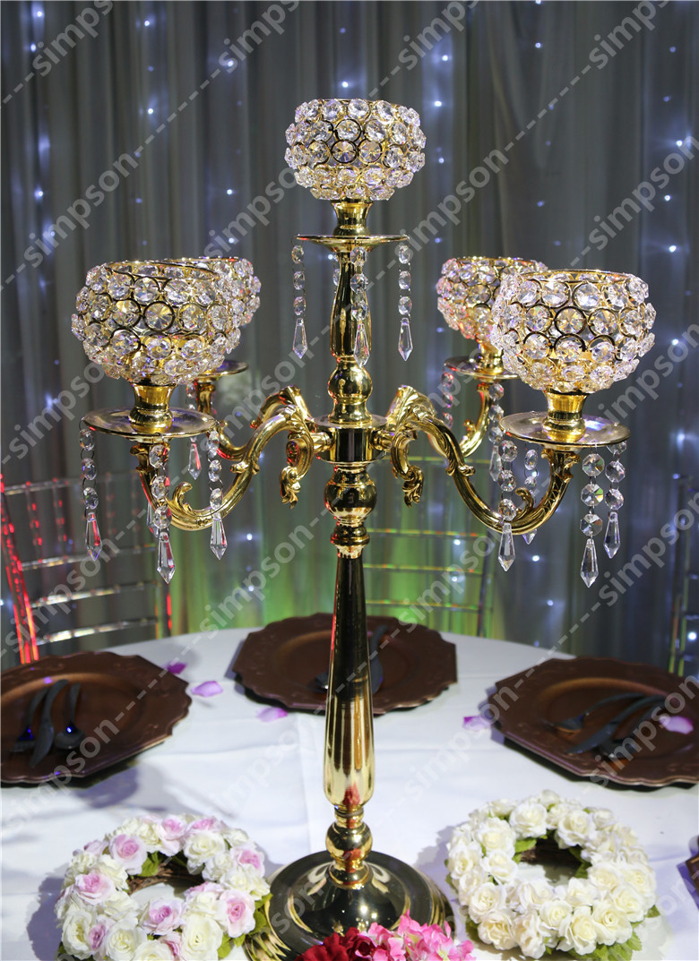 Aliexpress buy crystal wedding centerpiece