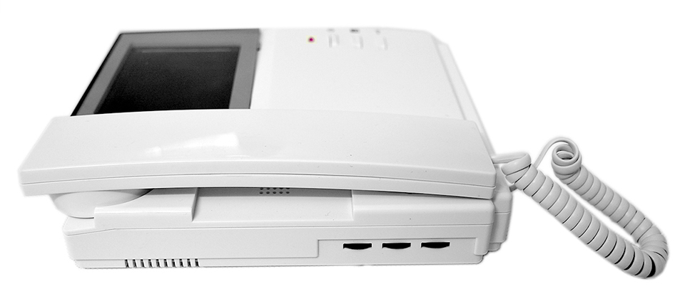 6 Units 4.3 Apartment Video Door Phone Intercom System 1-Camera 6-Monitor Video doorbell for Apartment Video Doorphone Intercom