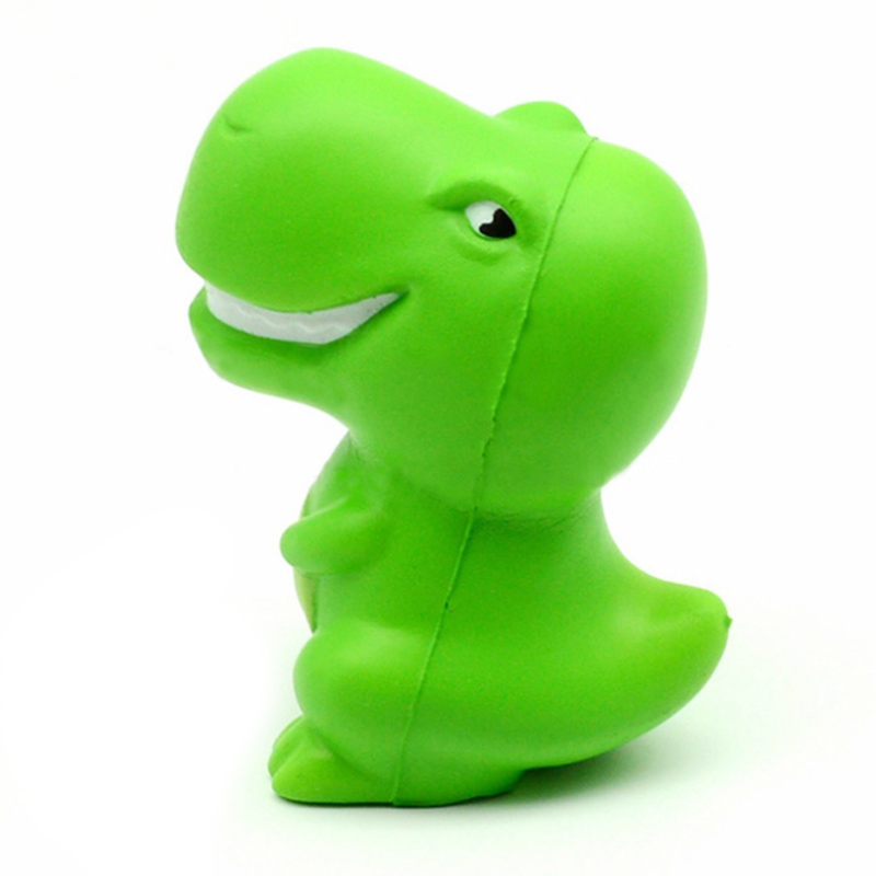 New Cute Squishy Dinosaur Creative PU Cartoon Doll Soft Squeeze Toy Scent Slow Rising Stress Relief Funny For Kids Gift 7*10CM