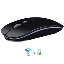 Wireless Mouse Computer Silent Mouse Silent PC Mice Rechargeable Ergonomic Mouse 2.4Ghz USB Optical Mice For PC Laptop slim silent touch usb wireless mouse for mac apple laptop pc microsoft windows computer mice 1200 dpi 2 4g ergonomic magic mouse