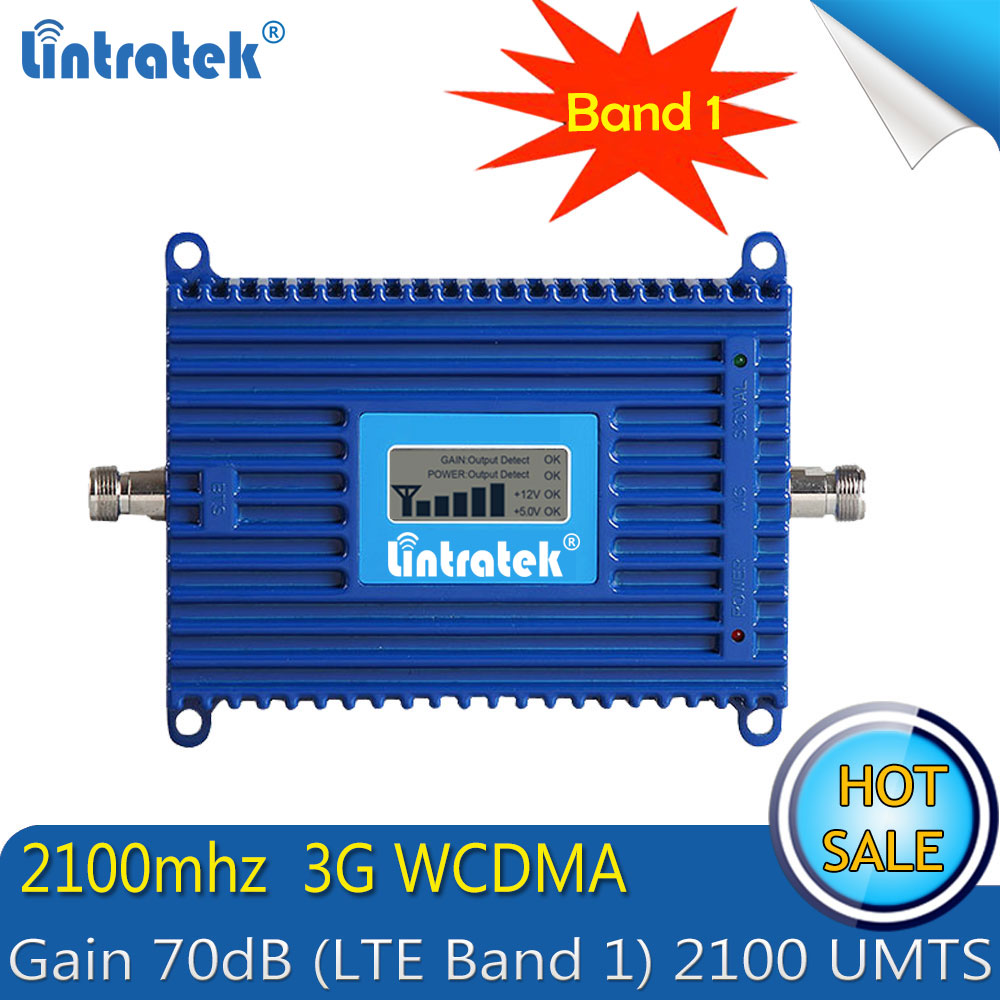 Free shipping Lintratek 3G WCDMA 2100MHZ Mobile Phone Signal Booster GSM 3G 2100 UMTS Signal Repeater AmplifierFree shipping Lintratek 3G WCDMA 2100MHZ Mobile Phone Signal Booster GSM 3G 2100 UMTS Signal Repeater Amplifier