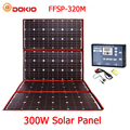 Dokio 300W 18V Flexible Faltbare Solar Panel Hiqh Qualität Tragbare Solar Panel China Für Camping/Boot/ RV/Reise/Home/Auto