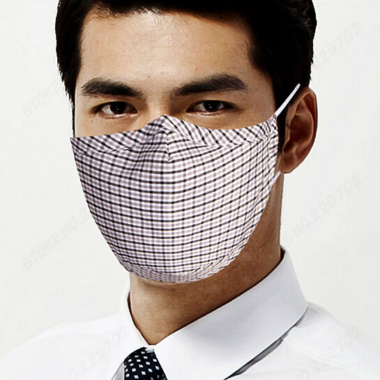 Mask 5 Per 2pcs Filters 8 Cotton Reusable Lot Face Pm2 Dust