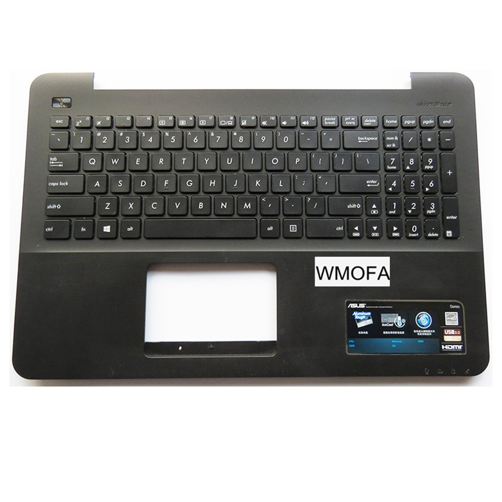 US New For ASUS K555 A555 X555 K555L A555L X555L W519L Y583L laptop keyboard English black C case