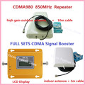 Full Set 70dBi Gain Mobile 3G Phone Signal Booster GSM CDMA 850 MHz Signal Repeater GSM Cell Phone Signal Amplifier with Antenna
