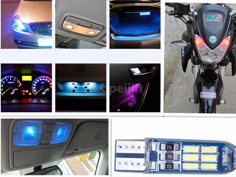 רכב LED פלאש מנורת אות מנורת עמילות אורות T10 W5W רישיון אור להונדה fit אקורד crv סיוויק ג 'אז עיר מכונית מנורת שיפוץ