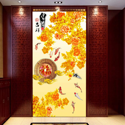 Chinese glass film frosted window paper sticker opaque bathroom cellophane self-adhesive wall stickers <font><b>sliding</b></font> door stickers