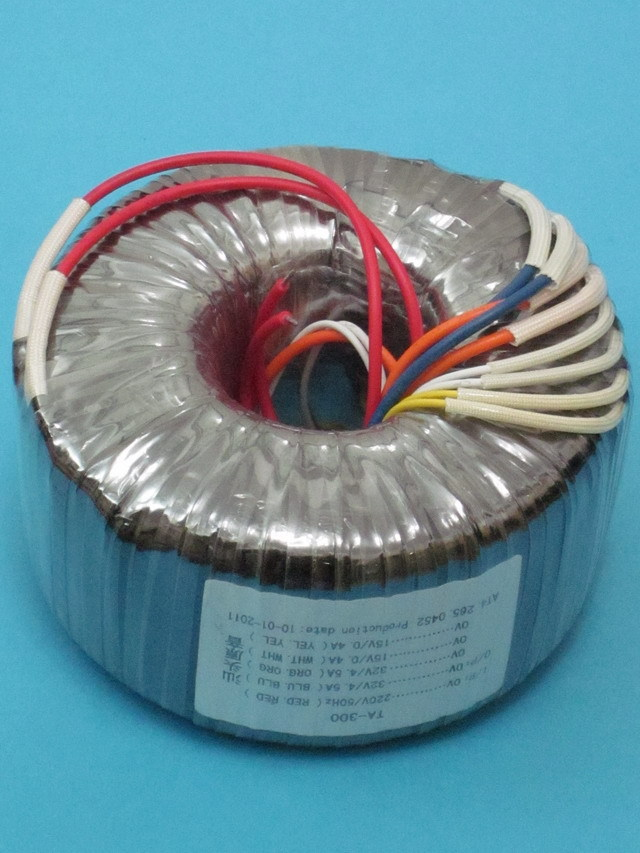Toroidal transformer copper custom transformer 220VAC 300VA for amplifier iwistao 300w toroidal transformer hifi power amplifier dedicated pure copper wire dual 33v