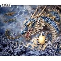 diamond painting beast,full,painting,5d,cross stitch,mosaic,rhinestone,animal,diamond embroidery angry dragon a7010