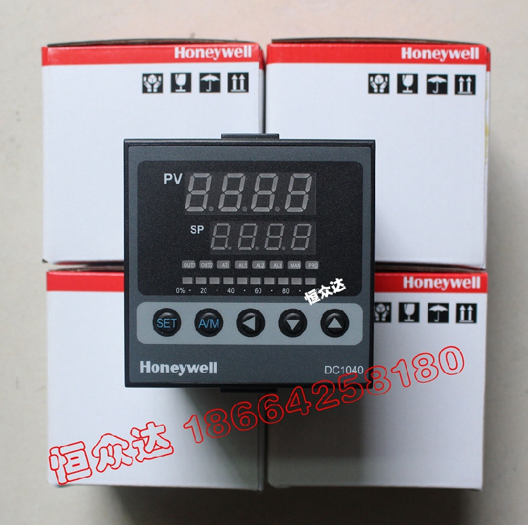цена на 100% Original New Honeywell DC1040CT-301000-E DC1040CR-301000-E Temperature Controller Electronic Thermostat