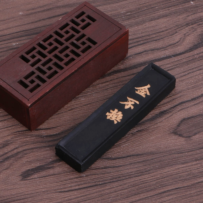 Drawing Writing Ink Stick Block Black Chinese Traditional Painting Paints Ink Stick Inker Inkstick Calligraphy Brushes Ink Block