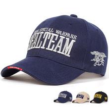 2018 New Arrivels US Navy Seal Team Tactical Cap Mens Army Baseball Cap Brand Gorras Adjustable