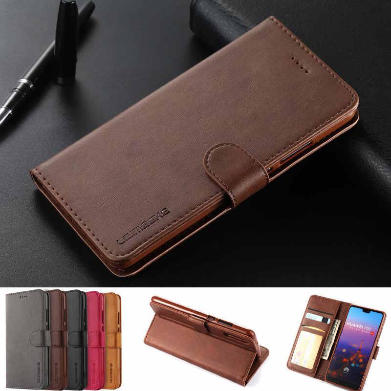 Huawei 社 P20 プロ Lite のカバーケースに p20lite 高級磁気フリップ財布革電話バッグ小箱 Huawei 社 1080P 20 Lite Coque
