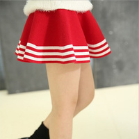 2017 New Fall And Winter Children S Clothing Girls Fashion Casual Knit Skirt Princess Tutu Skirts