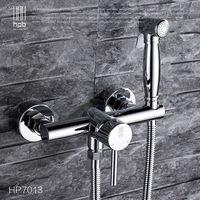 Блаватская латунь горячей и холодной воды смеситель ванная комната туалет переносной спрей с держателем для душа ручной биде кран HP7013