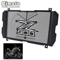 Bjmoto Motorcycle motocross Stainless steel Radiator Guard Radiator Grille Cover Protector for Kawasaki Z900 2017 2018 moto