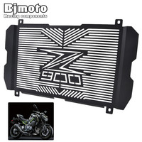 Bjmoto Motorcycle motocross Stainless steel Radiator Guard Radiator Grille Cover Protector for Kawasaki Z900 2017 2018 moto