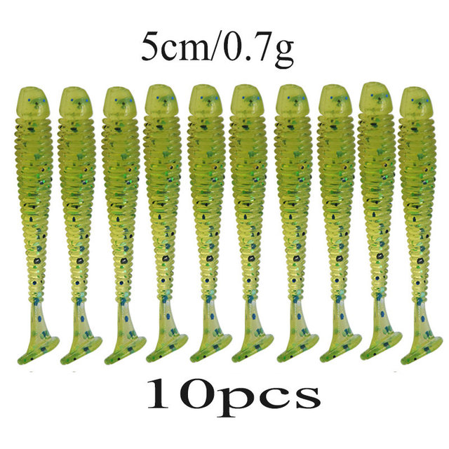 10pcs/lot Wobblers Soft Bait Saturn Worm 0.7g 4.7cm Swimbaits Silicone Soft Lure Carp Artificial Soft Lures for Fishing Peche @32842305966