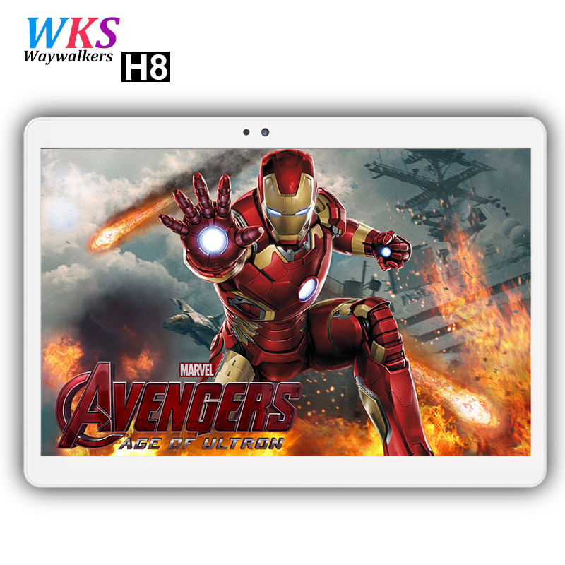 Free shipping 10 Inch Tablet pc Android 7.0 10 Core 4GB+ 64GB dual sim WiFi FM IPS Phone Call 3G/4G GPS Bluetooth Tablets+gifts free shipping 2017 s107 10 1 inch android 6 0 call phone octa core tablet pc dual sim 4g lte 4gb 64gb gps ips screen bluetooth