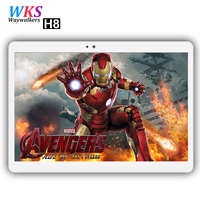 Free shipping 10 Inch Tablet pc Android 7.0 10 Core 4GB+ 64GB dual sim WiFi FM IPS Phone Call 3G/4G GPS Bluetooth Tablets+gifts