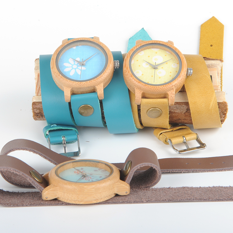 Image 3 - BOBO BIRD M22 Handmade Women Unique Wood Watch Fashion Brand For Ladies Watch With Quartz Movement Montres femmes With Gift Box-in Women's Watches from Watches