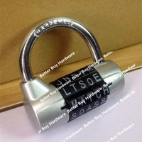 Sliver Color Mini 5 Letter Combination Password Code Padlock Door Lock Travel Luggage Cases Boxes Mailboxes