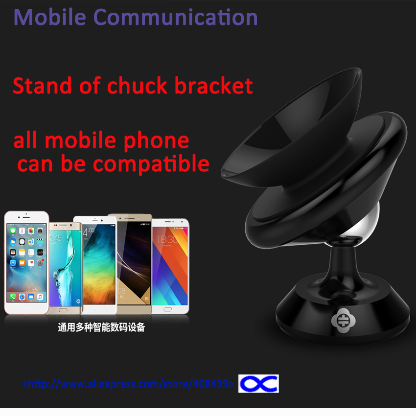 Stand Sucker Holder Bracket & Vehicle Chuck Mount for iphone for samsung for mobile phone 360 Degree Rotation silicone sucker