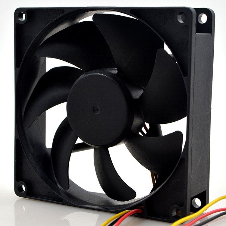 SUNON KD19PTB2 13.(2).E.F.GN Server Square Fan DC 12V 1.6W 90x90x25mm 3-wire