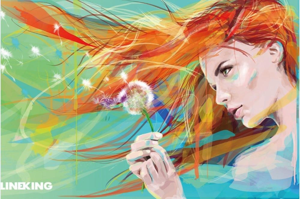 Achetez en gros aquarelle fleur portraits en ligne des for Aquarelle fleurs livraison gratuite