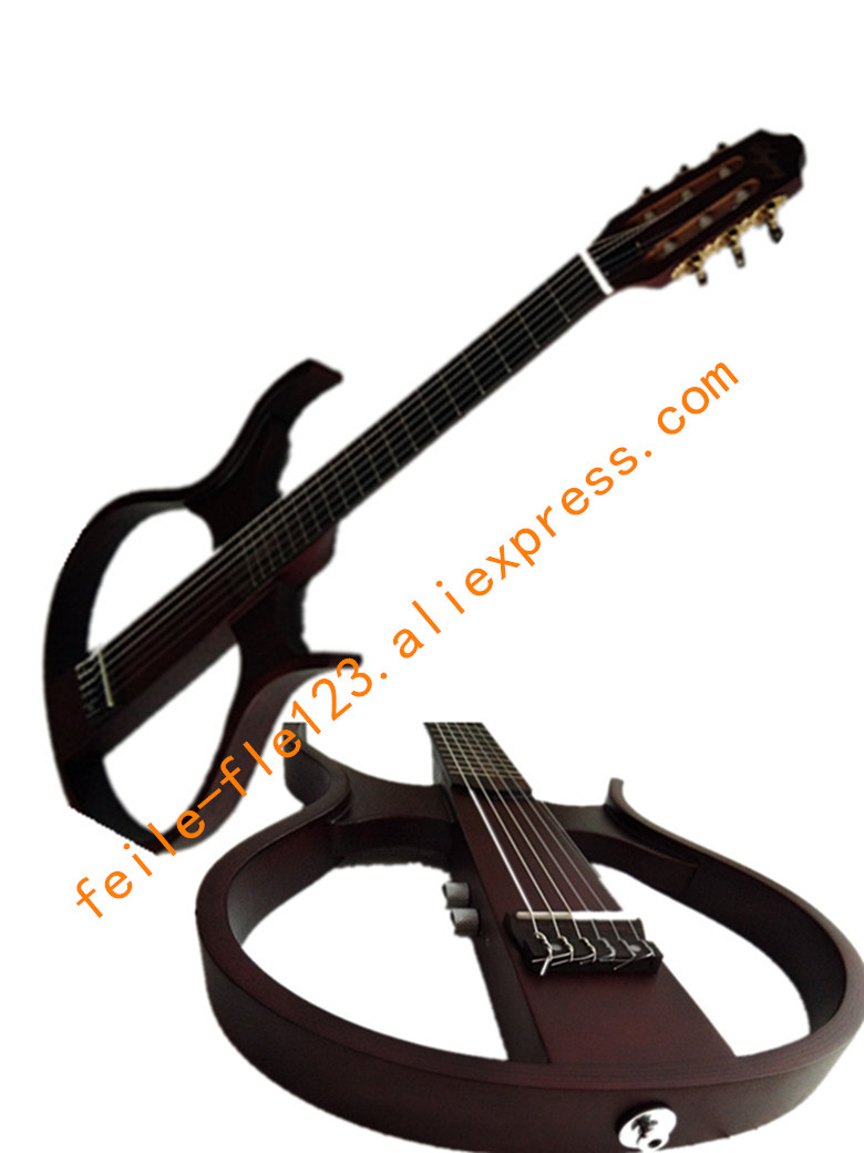 buy mute guitar hollow guitar steel string nylon string from reliable guitar. Black Bedroom Furniture Sets. Home Design Ideas