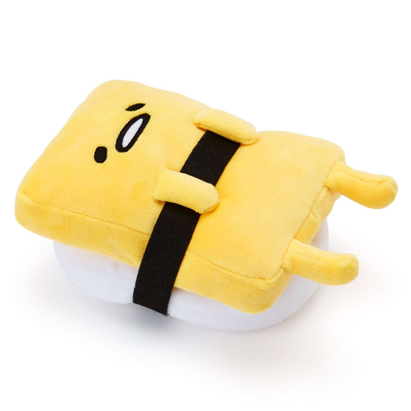 FoPcc 2018 NEW cute cartoon plush Pillow toy sushi gudetama lazy egg kawaii stuffed small doll creative birthday Christmas gift