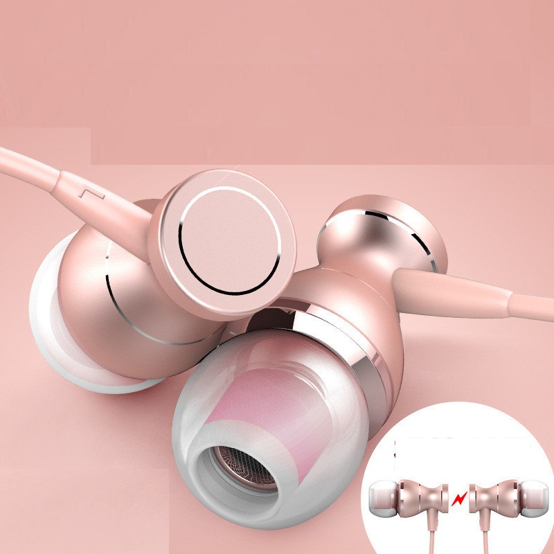 3.5mm Wired  Stereo Music Bass  Sports Earphone In-line Control Hands-free with Mic