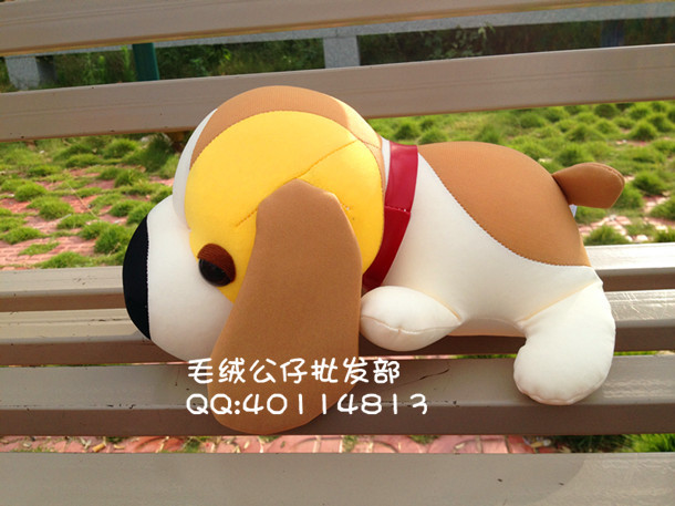 ФОТО stuffed 47 cm lovely big head dog lying dog toy foam nano particle toy soft doll gift w3298