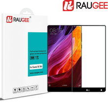 "RAUGEE for 6.4"" Xiaomi Mi Mix 2.5D Premium Full Cover Tempered Glass Anti-Explosion Screen Protector Film for Xiaomi Mi Mix Pro(China)"