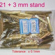 21+ 3 мм(100 шт) Латунная Статуэтка/brace/puncheon для камеры безопасности модуль печатной платы установка в сборе