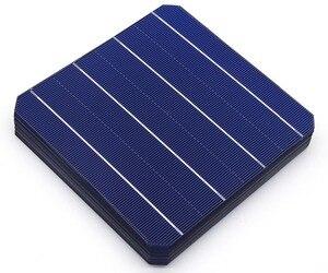 Image 4 - 40 Pcs 5 mit/teilen Monokristalline Solarzelle 156*156mm Für DIY Photovoltaik Mono Solar Panel