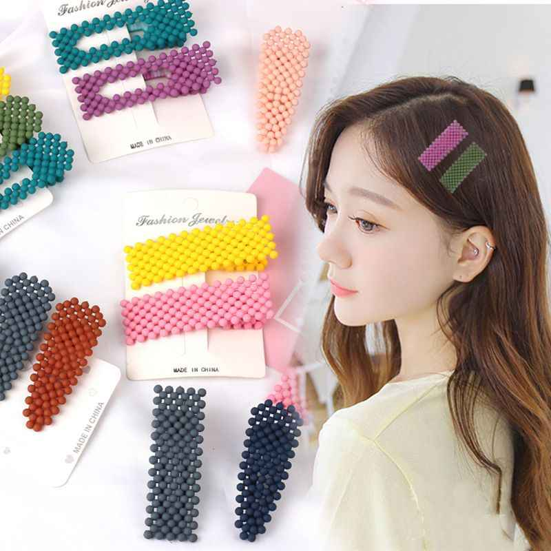 2019 New Design Korea Hairpins Beads Hair Clips Barrettes Wedding Hairwear For Women Hair Accessories Hairgrips Styling Tools