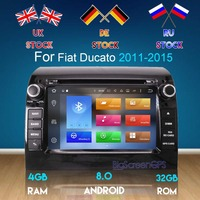 Android7.1/8.0 Car DVD Player GPS Navigation Multimedia Stereo For Fiat Ducato 2008 2015 CITROEN Jumper PEUGEOT Boxer Auto Radio