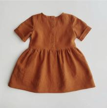 495f90ccd035a Buy simple linen dress for girls and get free shipping on AliExpress.com