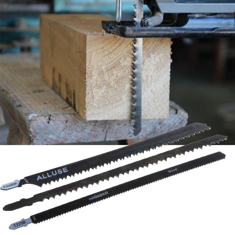 Lame de scie alternative HCS 180mm/250mm pour panneaux de tôle bois dur métal coupe sécurité du boisAccessoires pour outils électriques   -