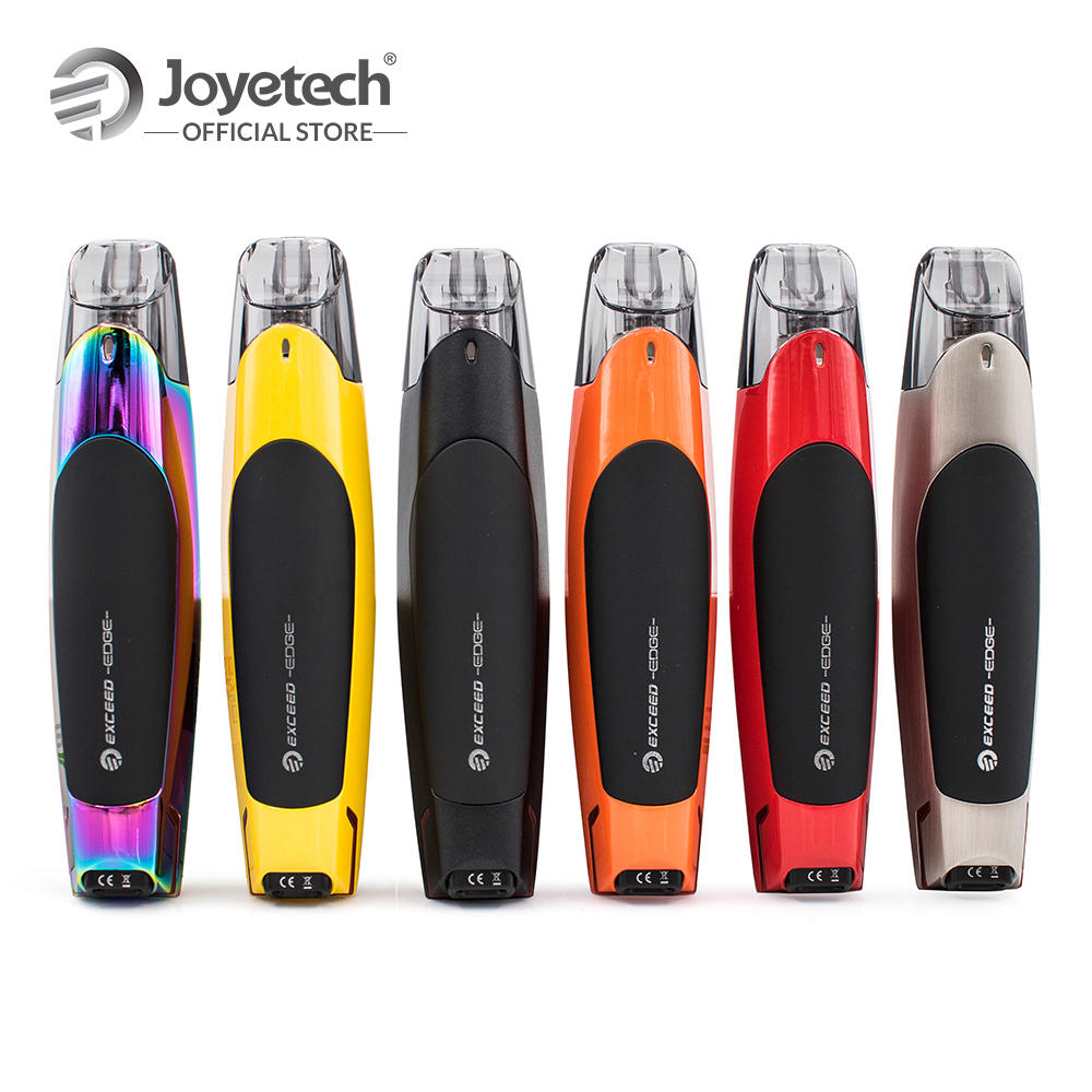 цена на US Warehouse Original Joyetech EXCEED Edge Kit Built-in 650mAh Battery 2ml EX Head 1.2ohm Coil Electronic Cigarette
