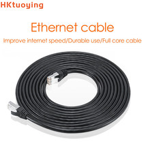 Câble Ethernet UTP Lan RJ45 Cat5, 20M/50M, pour commutateur NVR DVR, routeur TV Cat6, cordon de raccordement Compatible