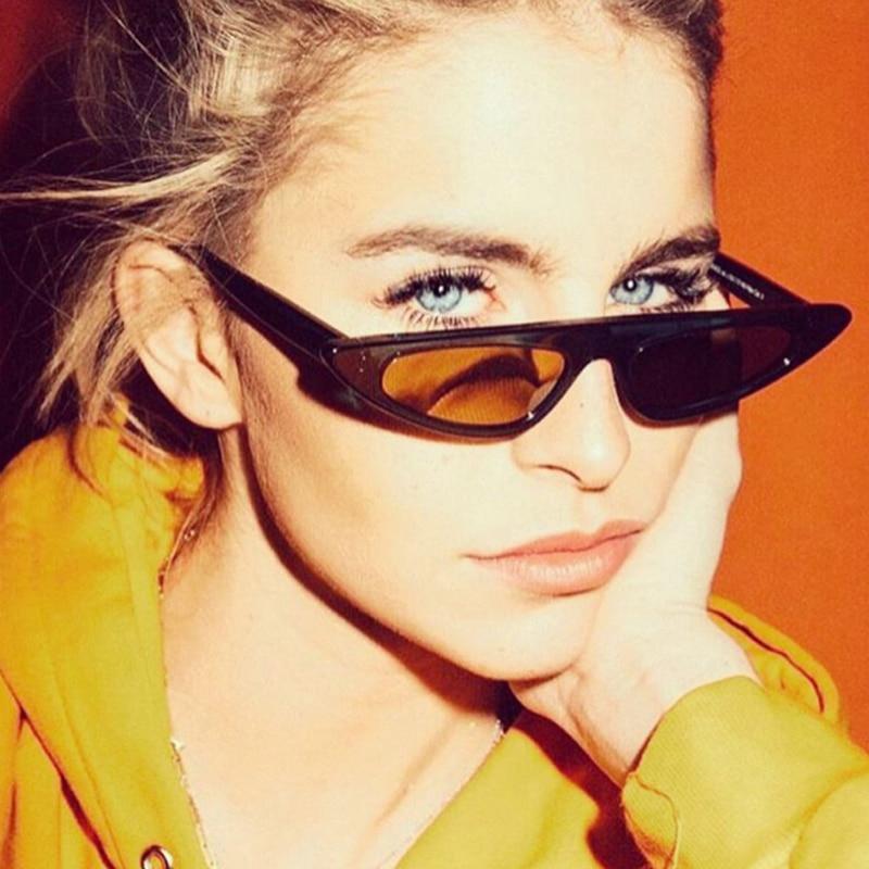 Macska szeme ovális napszemüvegek a nők számára Vintage design - Ruházati kiegészítők