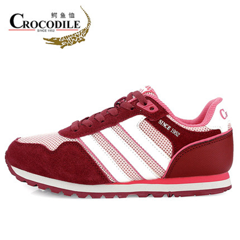 CROCODILE New Women Athletic Sneakers Ladies Walking Shoes Leather Running Jogging Sneak ...