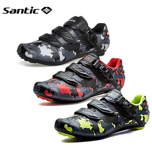 Image 2 - Santic Road Cycling Shoes Carbon Fiber Bike Shoes Men Professional Athletic Racing Team Sneakers Breathable Outdoor Sports Shoes