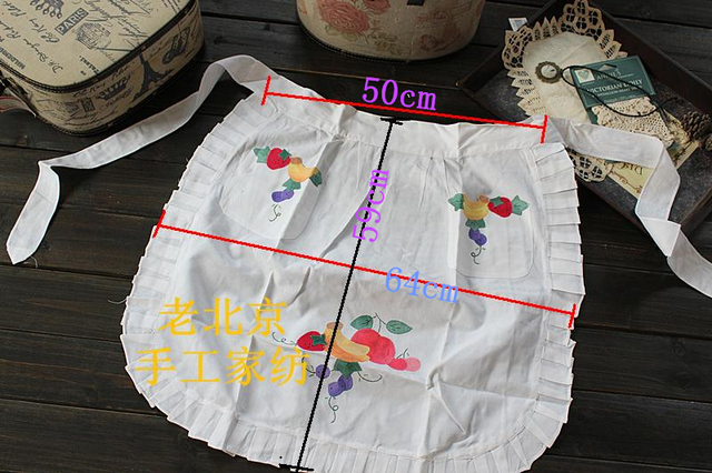 Free shipping handmade vintage cotton embroidery patch applique