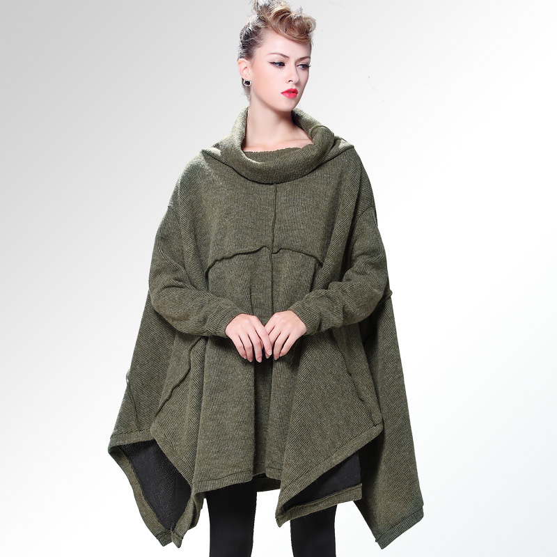 Autumn winter maternity dress New Fashion Pregnant women long coat Loose Knit sweaters maternity clothing hot sale open front geometry pattern batwing winter loose cloak coat poncho cape for women